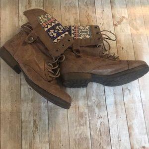 Justfab combat boots